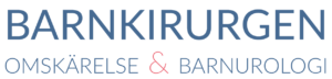 Omskärelse och barnurologi Logotyp